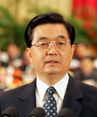 胡锦涛强调:西部大开发将成为十二五规划重大