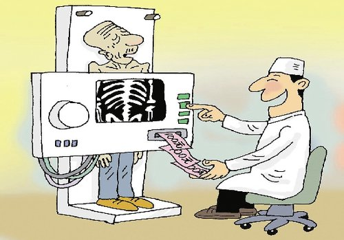 时下一些医院滥用检查仪器,将检查仪器变成了提款机,加重了病人的经济图片