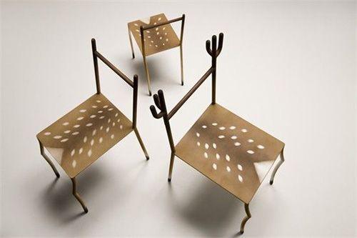 创意仿生家居设计:小鹿斑比椅