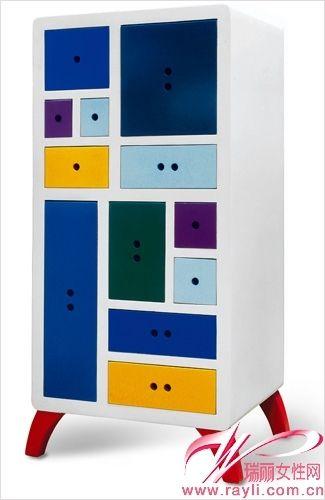 彩色室内单品家具手绘图片