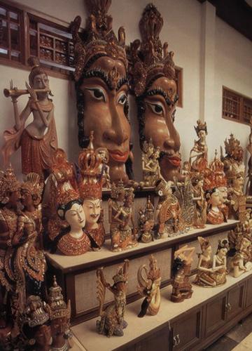 巴厘岛 木雕之乡的特色工艺