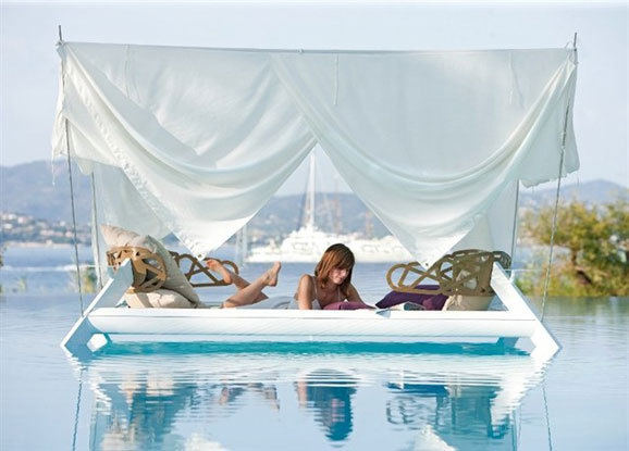 a壁纸的户外壁纸:水床的情趣之梦蓝色高清海洋图片