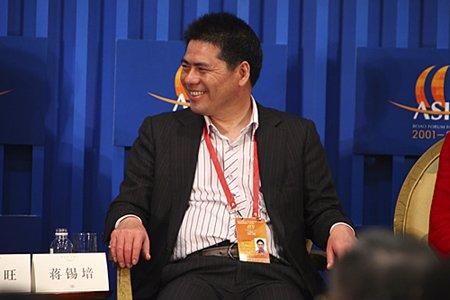 图文:远东控股集团董事局主席蒋锡培